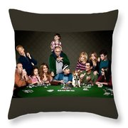 Modern Family Throw Pillow
