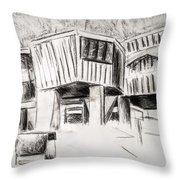 Modern Homes Throw Pillow