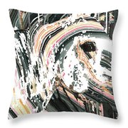 Modern Horse Art By Sharon Cummings Throw Pillow