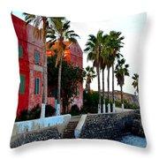Modern Hotel Throw Pillow