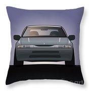 Modern Japanese Icons Subaru Alcyone Svx Throw Pillow