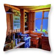 Modern Kitchen Iceland Throw Pillow