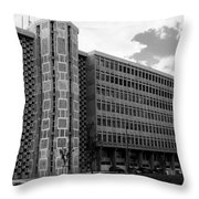 Modern Lisbon - The Palace Of Justice Throw Pillow