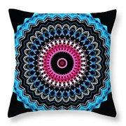Modern Mandala Art 27 Throw Pillow