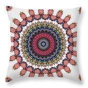 Modern Mandala Art 28 Throw Pillow