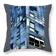 Modern Ny Building Throw Pillow