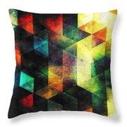 Modern Quadratic Abstraction Throw Pillow