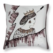 Modern Queen Throw Pillow