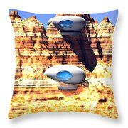 Modern Relics 1 Throw Pillow