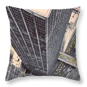 Modern Skyscrapers Throw Pillow