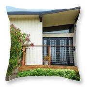 Modern Suburban House Hayward California 27 Throw Pillow
