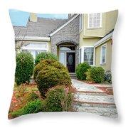 Modern Suburban House Hayward California 32 Throw Pillow