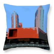 Modern Tampa Throw Pillow