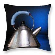 Modern Teapot. Throw Pillow