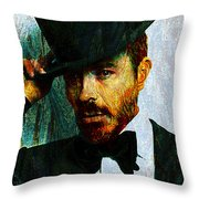 Modern Van Gogh Xiii Throw Pillow