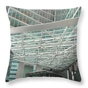 Modern Vienna Throw Pillow
