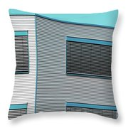 Modern Walls And Windows Furth Germany Throw Pillow