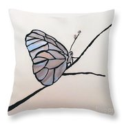 Modest Elegance Throw Pillow