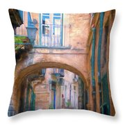 Modica Street Throw Pillow
