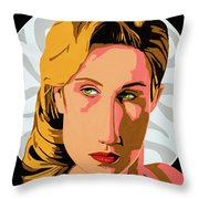 Modigliani Modern 2 Throw Pillow