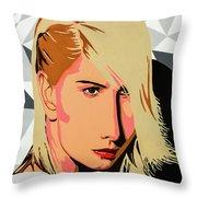 Modigliani Modern Throw Pillow