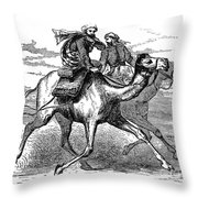 Mohammed (570-632) Throw Pillow