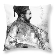 Mohammed Yakub Khan Throw Pillow