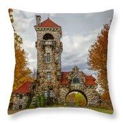 Mohonk Preserve Gatehouse II Throw Pillow