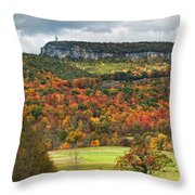 Mohonk Tower Throw Pillow