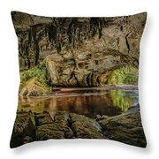 Moira Arch Cave Throw Pillow
