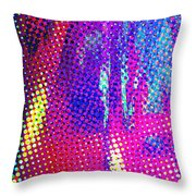Moire No. 2 Throw Pillow