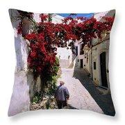 Mojacar,andalusia,spain Throw Pillow