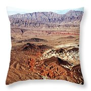 Mojave Desert Magic Throw Pillow