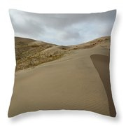 Mojave Preserve Kelso Dunes Throw Pillow