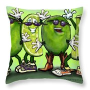 Mojitos Throw Pillow