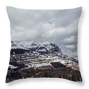 Molas Pass Summit Throw Pillow