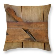 Molding Plane Throw Pillow