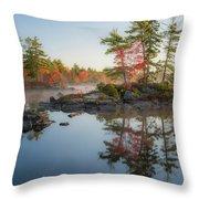 Molega Lake, Nova Scotia Throw Pillow