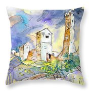 Molina De Aragon Spain 01 Throw Pillow