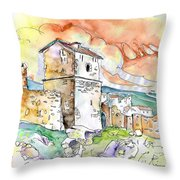 Molina De Aragon Spain 02 Throw Pillow