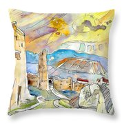 Molina De Aragon Spain 03 Throw Pillow