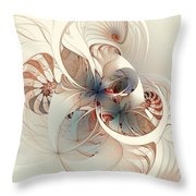 Mollusca Throw Pillow