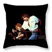 Molly Hatchet-93-danny-bobby-3698 Throw Pillow