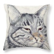Molly Mischief Throw Pillow