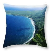 Molokai, View Throw Pillow