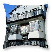 Mol's Coffee House Throw Pillow