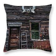Molson Gold Mines Throw Pillow