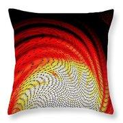 Molten Honeycomb Throw Pillow