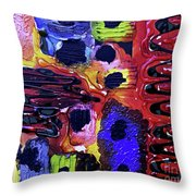 Mom, I Got Sick - V1rse100 Throw Pillow