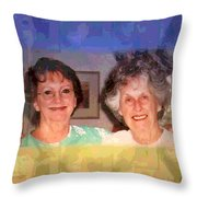 Mom Is Turning Ninety Throw Pillow